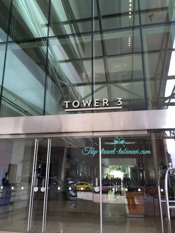 シンガポール マリーナベイサンズホテル ターミナル3 チェックイン