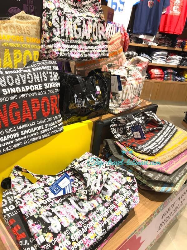 シンガポール  チャンギ空港 ターミナル 123  大人気 お土産  discover バッグ