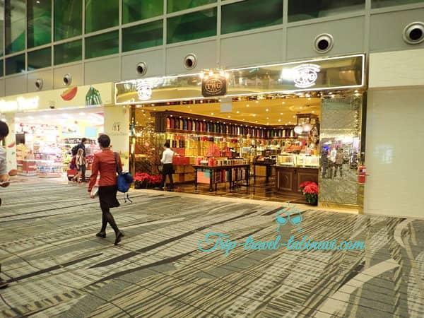 シンガポール  チャンギ空港 ターミナル 123  お土産 twg