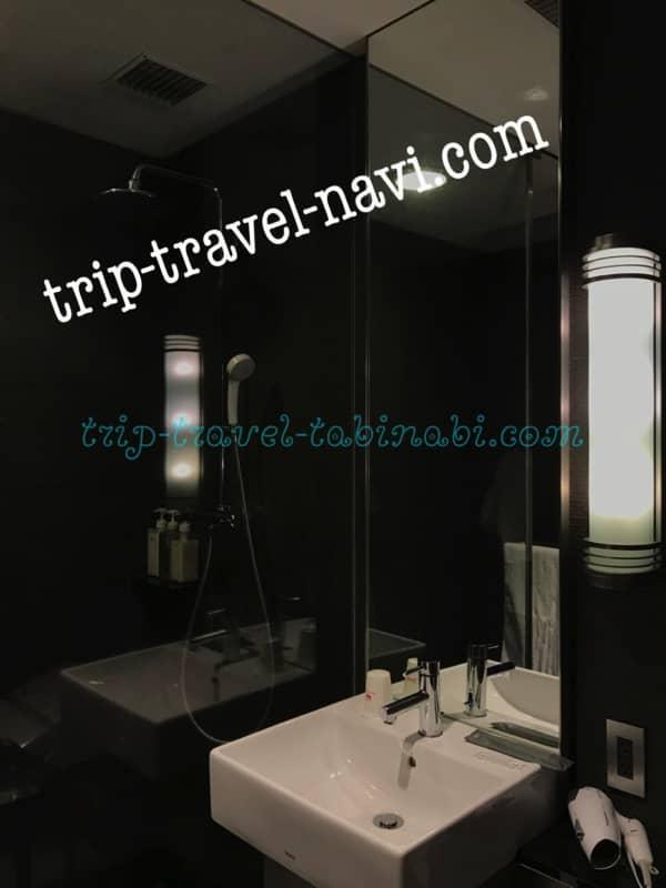 羽田空港 国際線 JAL サクララウンジ シャワー