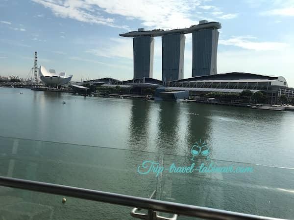 シンガポール フラトンベイホテル 景観 ビュー 眺め