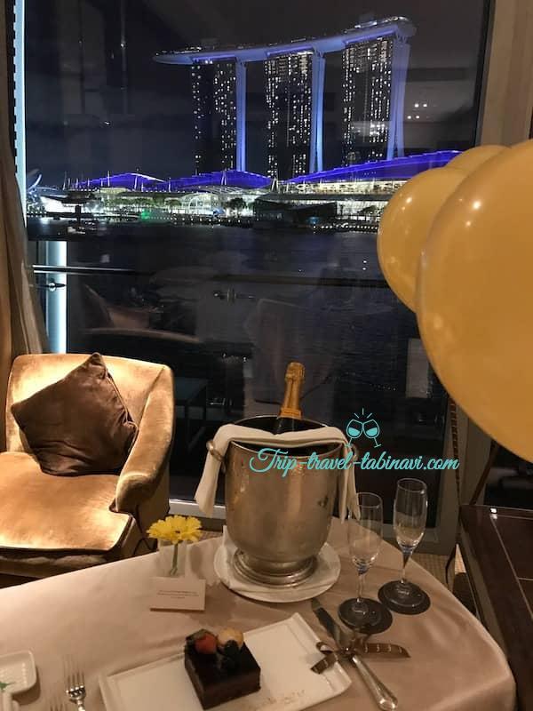 シンガポール フラトンベイホテル ベイビュー ルーム