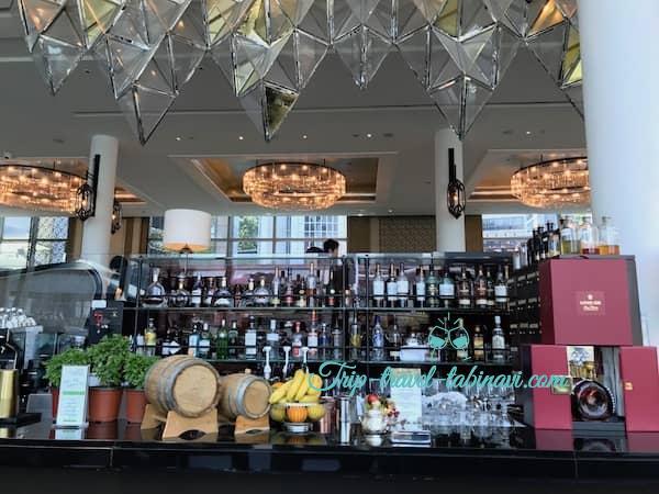 シンガポール フラトンベイホテル ランディングポイント アフタヌーンティー ハイティー
