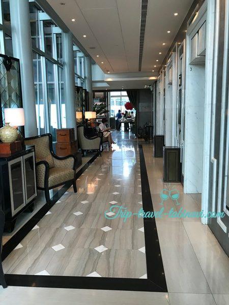 シンガポール フラトンベイホテル エレベーター