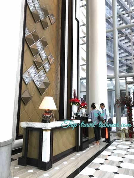 シンガポール フラトンベイホテル アーリーチェックイン