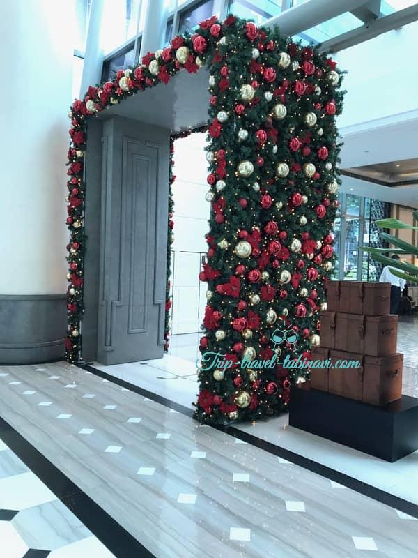 シンガポール フラトンベイホテル フロント レセプション ロビー