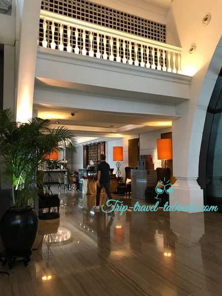 シンガポール フラトンベイホテル サービス 対応
