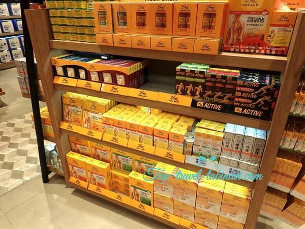 シンガポール  チャンギ空港 ターミナル 123  大人気 お土産  タイガーバーム