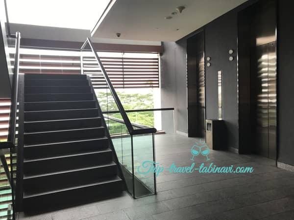 カペラホテル スィートルーム エレベーター セントーサ シンガポール Capella Hotel Singapore