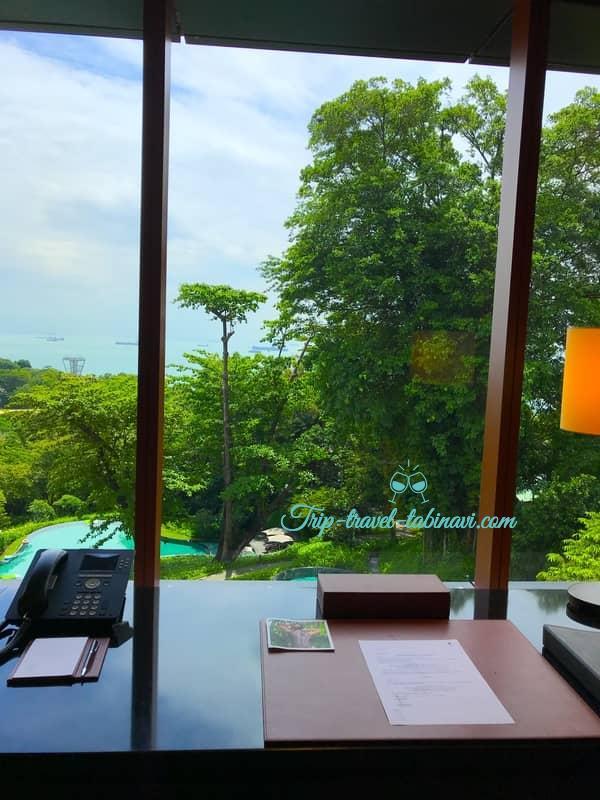 カペラホテル スィートルーム 景観 セントーサ シンガポール Capella Hotel Singapore