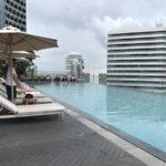 アンダーズハイアット シンガポール  プール 更衣室