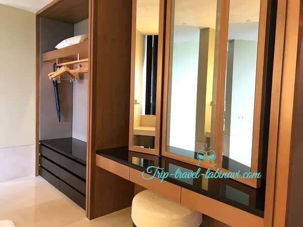 カペラホテル スィートルーム ドレッサー セントーサ シンガポール Capella Hotel Singapore