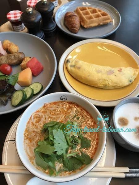 アンダーズ ハイアット シンガポール 朝食 ビュッフェ