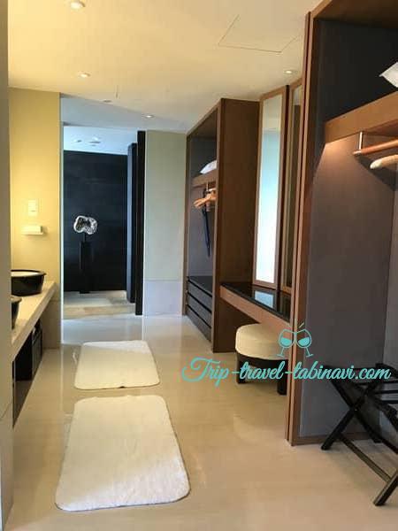カペラホテル スィートルーム 洗面所 セントーサ シンガポール Capella Hotel Singapore