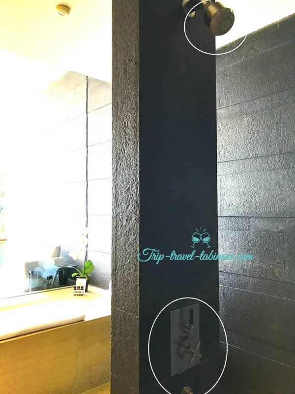 カペラホテル スィートルーム シャワー セントーサ シンガポール Capella Hotel Singapore
