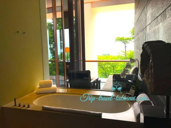 カペラホテル スィートルーム バスルーム セントーサ シンガポール Capella Hotel Singapore