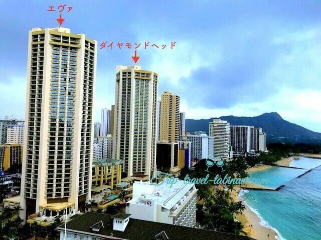 ハワイ ハイアット リージェンシー ワイキキ ホテル  ダイヤモンドヘッドタワー エヴァタワー