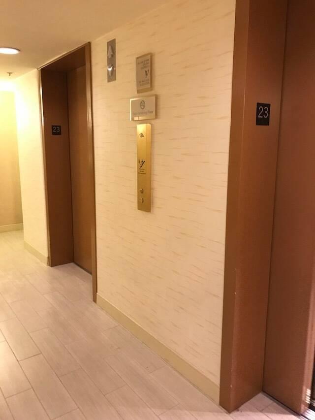 ハイアット リージェンシー ワイキキ ダイヤモンドヘッドタワー オーシャンフロント 宿泊記 エレベーター