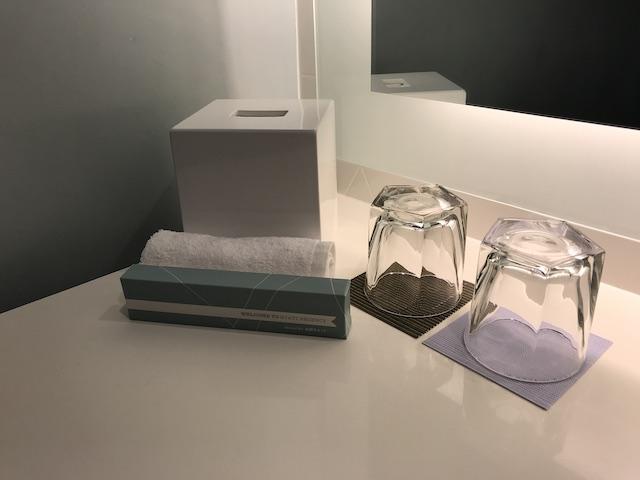 ハイアット リージェンシー ワイキキ ダイヤモンドヘッドタワー オーシャンフロント 宿泊記 洗面所