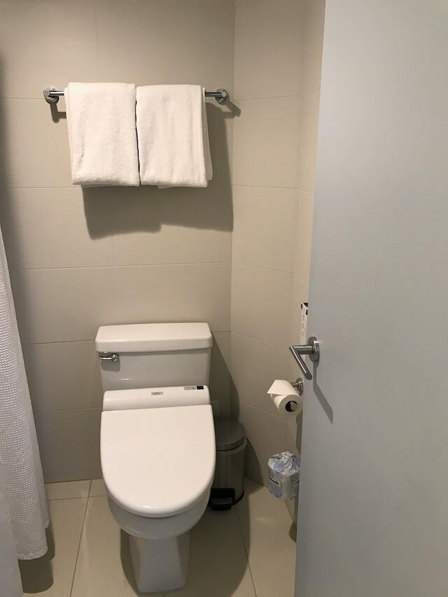 ハイアット リージェンシー ワイキキ ダイヤモンドヘッドタワー オーシャンフロント 宿泊記 トイレ