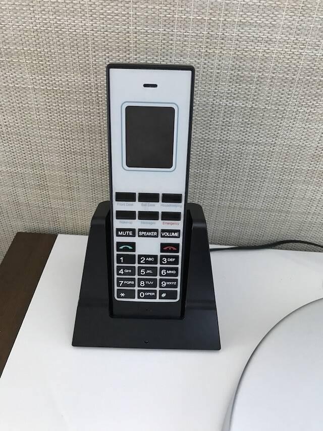ハイアット リージェンシー ワイキキ ダイヤモンドヘッドタワー オーシャンフロント 宿泊記 電話 子機
