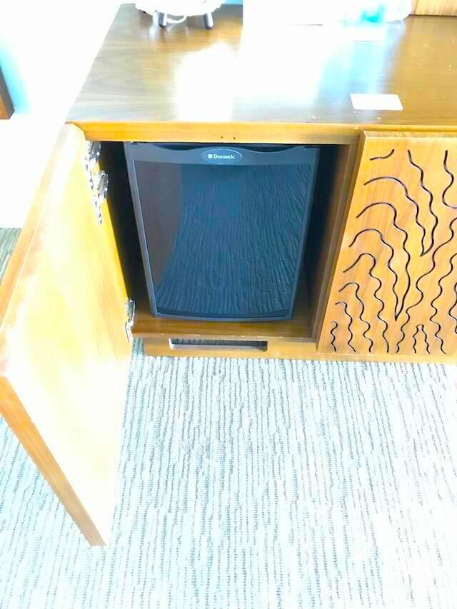 ハイアット リージェンシー ワイキキ ダイヤモンドヘッドタワー オーシャンフロント 宿泊記 冷蔵庫